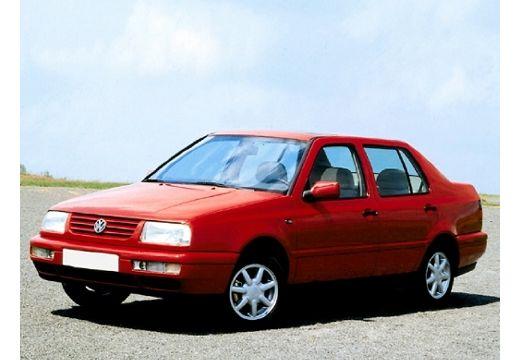VOLKSWAGEN Vento I sedan czerwony jasny przedni lewy