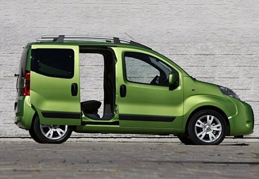 FIAT Fiorino Qubo kombi zielony boczny prawy