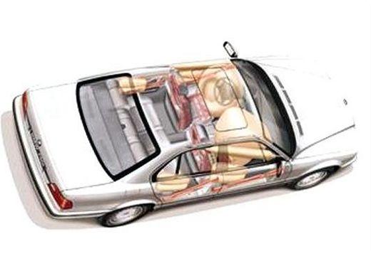 BMW Seria 7 E38 sedan biały szczegółowe opcje