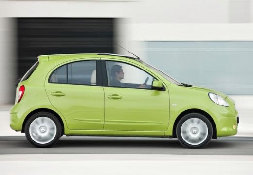 NISSAN Micra VIII hatchback zielony boczny prawy