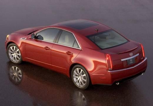 CADILLAC CTS sedan czerwony jasny tylny lewy