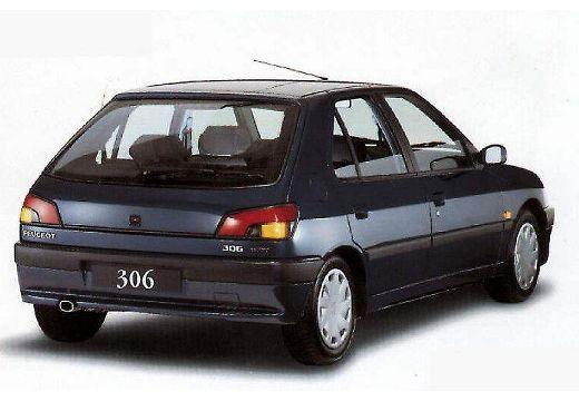 PEUGEOT 306 I hatchback tylny prawy