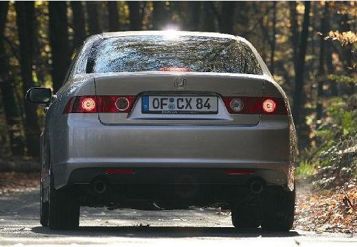 HONDA Accord VI sedan silver grey tylny