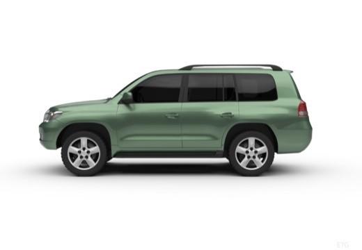 Toyota Land Cruiser V8 I kombi boczny lewy