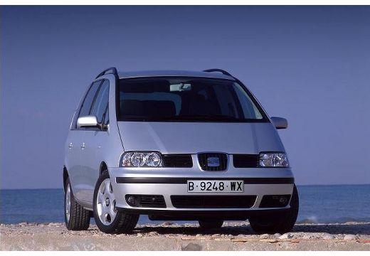 SEAT Alhambra II van silver grey przedni prawy