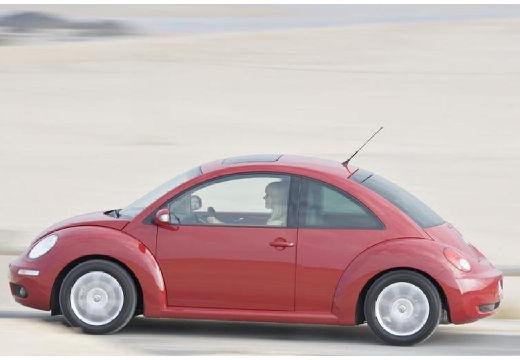 VOLKSWAGEN New Beetle coupe czerwony jasny boczny lewy