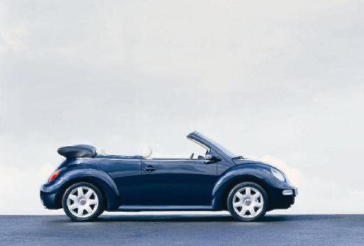VOLKSWAGEN New Beetle Cabriolet I kabriolet niebieski jasny boczny prawy