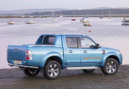 FORD Ranger III pickup niebieski jasny tylny prawy