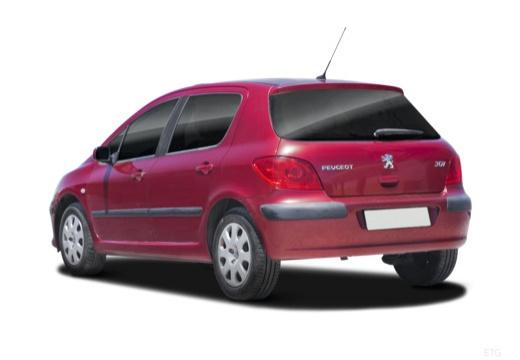 PEUGEOT 307 II hatchback tylny lewy