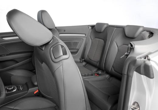 AUDI A3 Cabriolet 8V kabriolet wnętrze