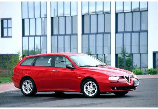 ALFA ROMEO 156 Sportwagon I kombi czerwony jasny przedni prawy