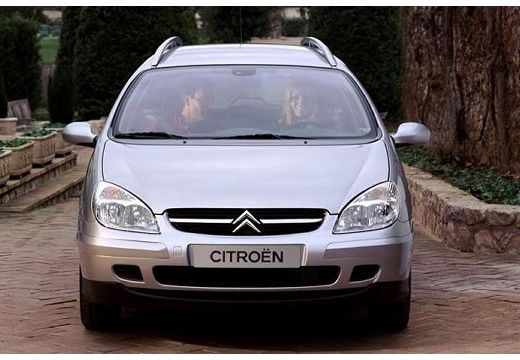 CITROEN C5 Break I kombi silver grey przedni