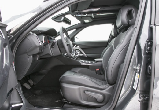 CITROEN DS5 II hatchback szary ciemny wnętrze