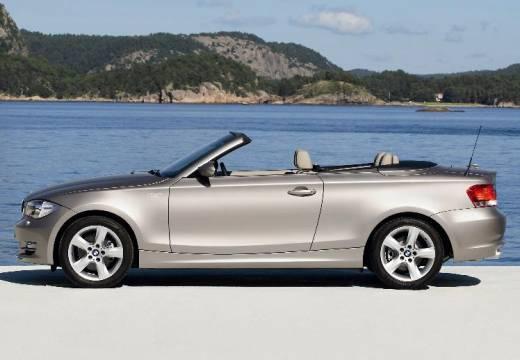 BMW Seria 1 Cabrio E88 I kabriolet beige boczny lewy