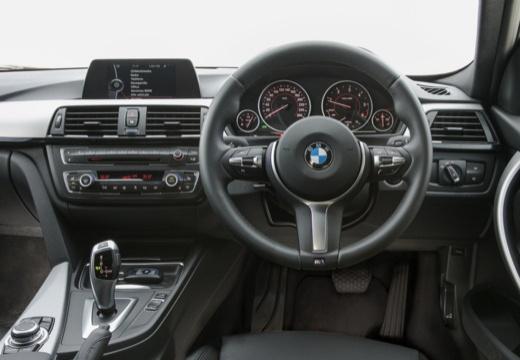BMW Seria 3 Touring F31 I kombi biały tablica rozdzielcza