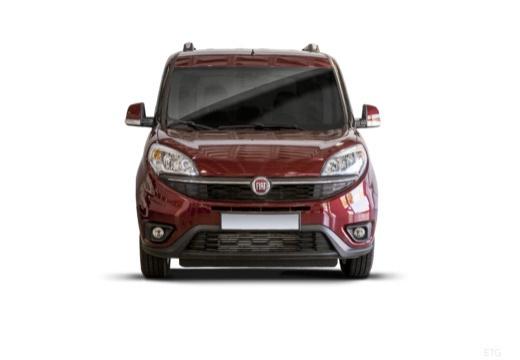 FIAT Doblo kombi bordeaux (czerwony ciemny) przedni