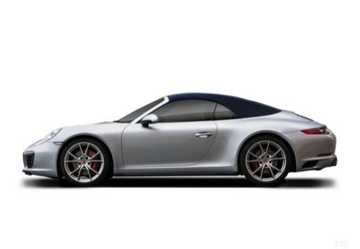 PORSCHE 911 Cabrio 991 II kabriolet boczny lewy