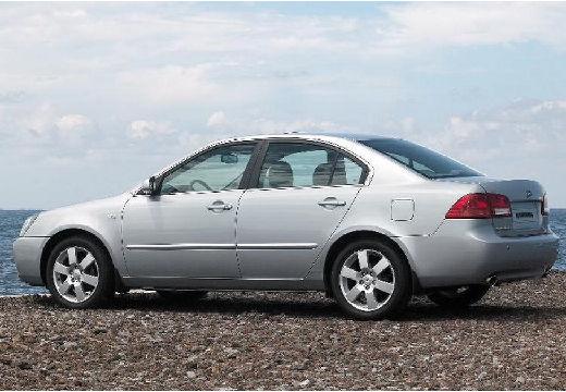 KIA Magentis III sedan silver grey tylny lewy