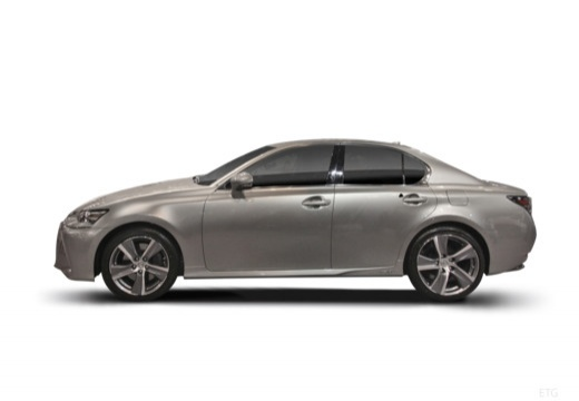 LEXUS GS V sedan boczny lewy