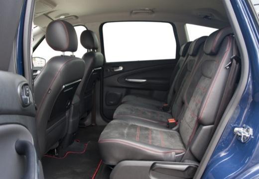 FORD S-MAX II van niebieski jasny wnętrze