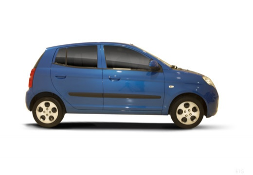 KIA Picanto II hatchback boczny prawy
