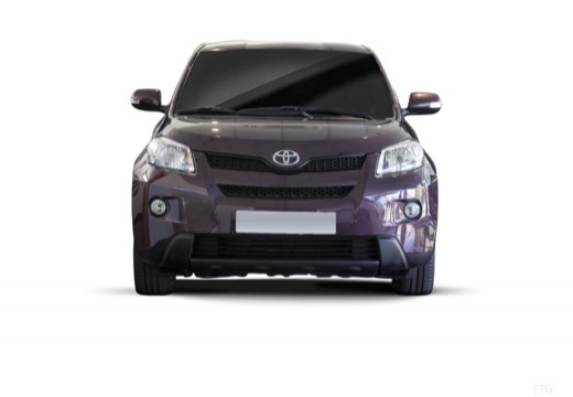 Toyota Urban Cruiser I hatchback fioletowy przedni
