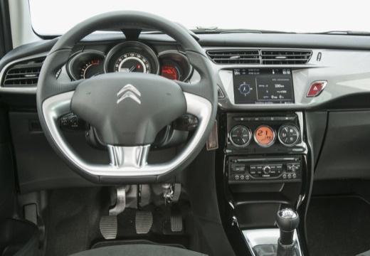 CITROEN C3 II II hatchback czarny tablica rozdzielcza