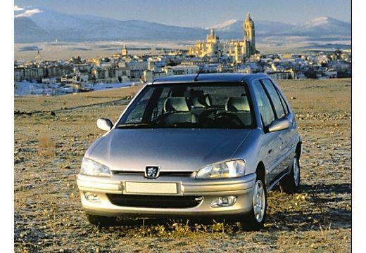 PEUGEOT 106 II hatchback silver grey przedni lewy