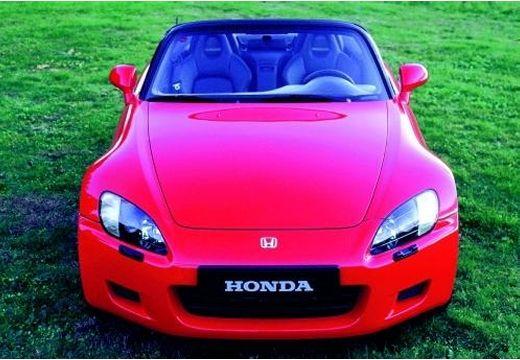 HONDA S 2000 roadster czerwony jasny przedni