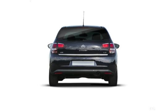 CITROEN C3 II II hatchback czarny tylny