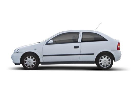 OPEL Astra II hatchback boczny lewy
