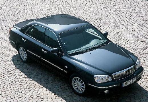 HYUNDAI XG sedan czarny przedni prawy