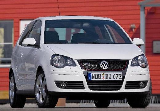 VOLKSWAGEN Polo IV II hatchback biały przedni prawy
