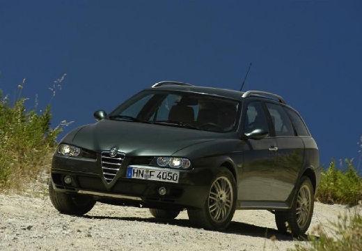 ALFA ROMEO 156 Crosswagon Q4 kombi zielony przedni lewy