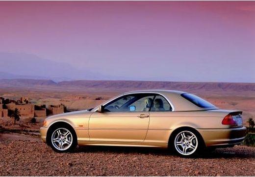 BMW Seria 3 kabriolet tylny lewy