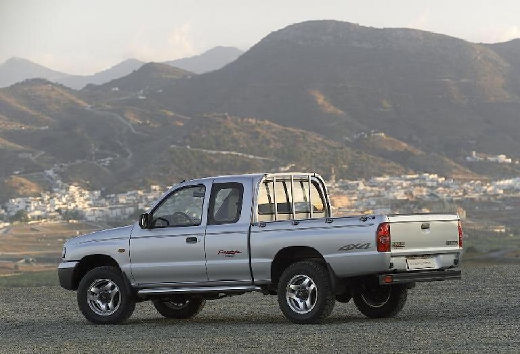 MAZDA B-seria pickup silver grey tylny lewy