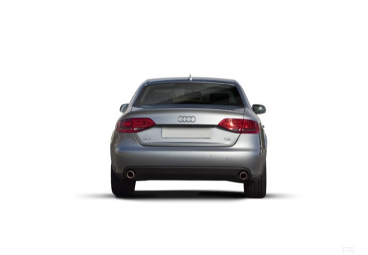 AUDI A4 B8 I sedan silver grey tylny