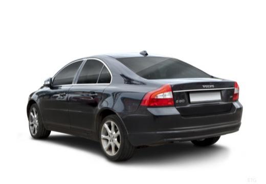 VOLVO S80 III sedan czarny tylny lewy