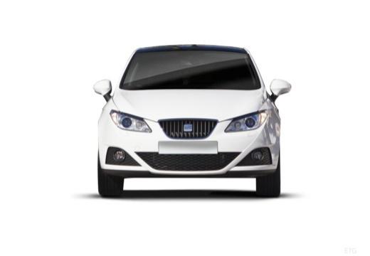 SEAT Ibiza V hatchback biały przedni