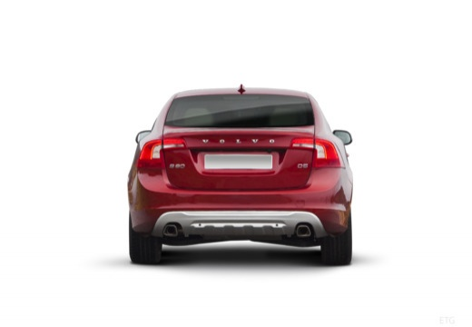 VOLVO S60 IV sedan czerwony jasny tylny