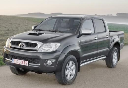 Toyota HiLux IV pickup szary ciemny