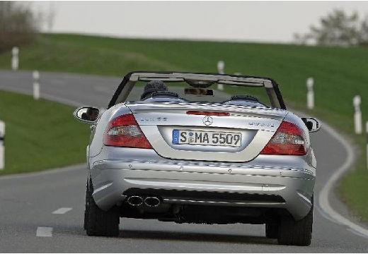 MERCEDES-BENZ Klasa CLK CLK Cabriolet A 209 II kabriolet silver grey tylny