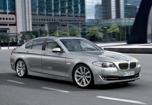 BMW Seria 5 F10 I sedan silver grey przedni prawy