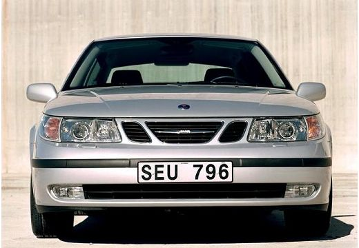 SAAB 9-5 II sedan silver grey przedni