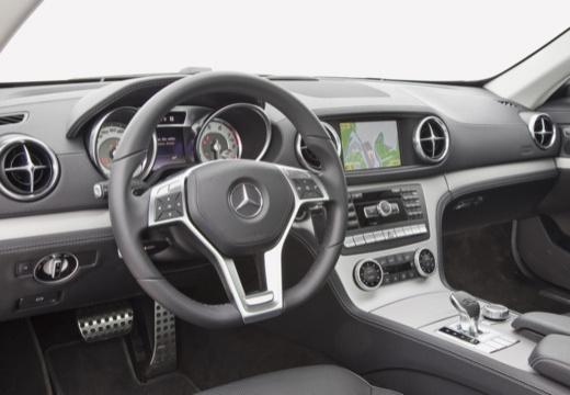 MERCEDES-BENZ Klasa SL roadster tablica rozdzielcza