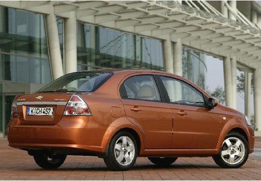 CHEVROLET Aveo II sedan pomarańczowy tylny prawy