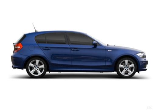 BMW Seria 1 E87 II hatchback boczny prawy