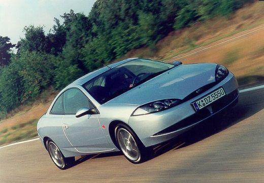 FORD Cougar coupe silver grey przedni prawy