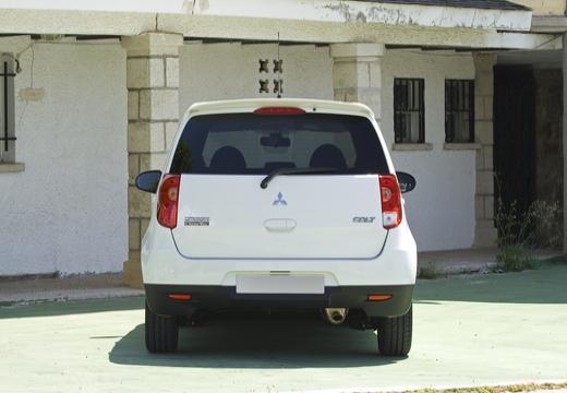 MITSUBISHI Colt VI hatchback biały tylny