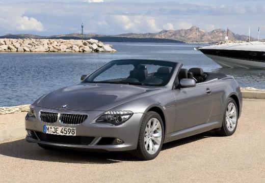 BMW Seria 6 Cabriolet E64 II kabriolet silver grey przedni lewy